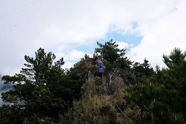 羊頭山登山步道4.1K抵達羊頭山三角點