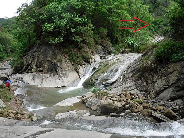 龜丹溪與阿拉溪匯流處