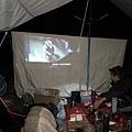 精英溫泉露營跨年大螢幕
