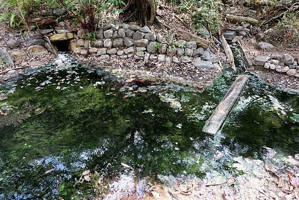 七坑野溪溫泉源頭