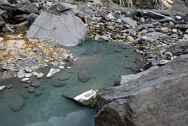 十三坑野溪溫泉最大溫泉池