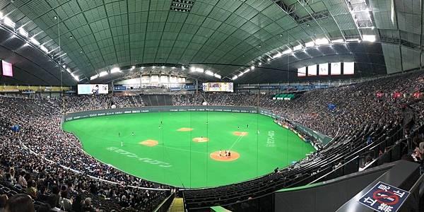 日本札幌巨蛋朝聖