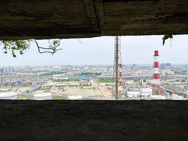 北峰碉堡中層堡壘視野風景