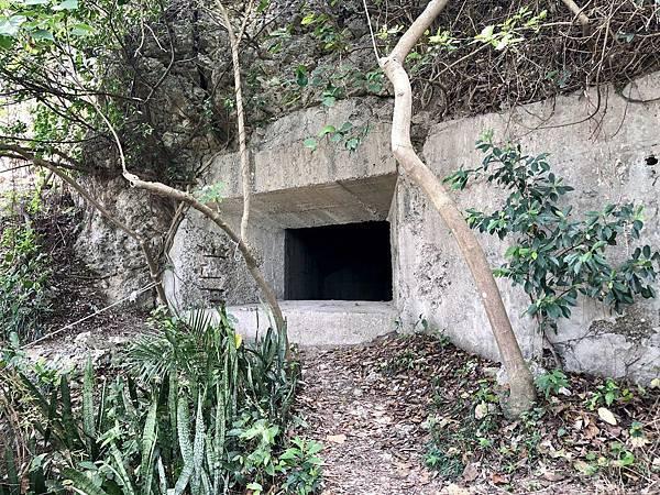 抵達「北峰碉堡」入口