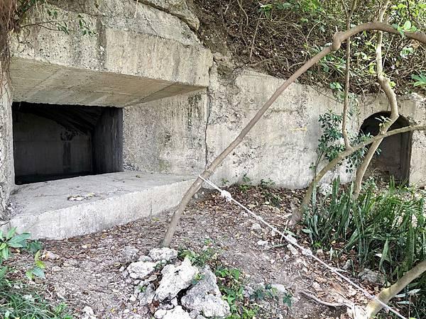 北砲台下層-南砲堡砲口