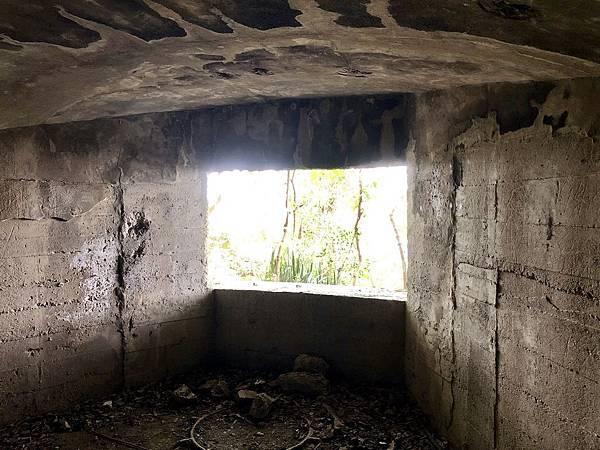 進入北砲台下層-南砲堡砲口