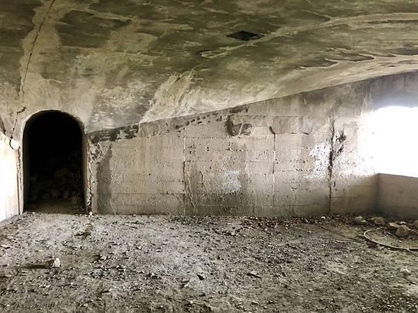 北砲台下層-南砲堡內部