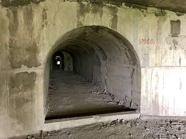北砲台下層-南砲堡坑道