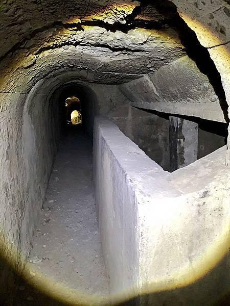 南砲堡坑道-狹長型蓄水池