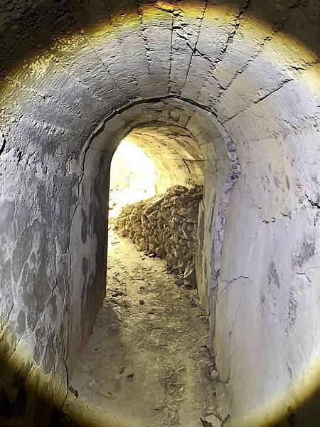 南砲堡坑道-東出入口