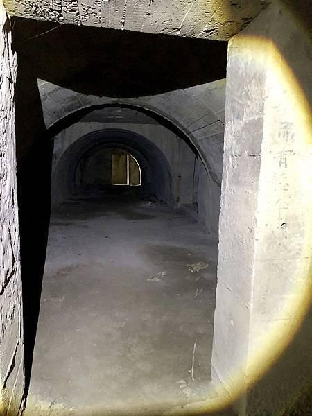 南砲堡坑道-彈藥庫入口