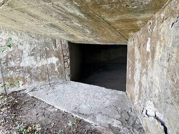 北砲台下層-北砲堡砲口
