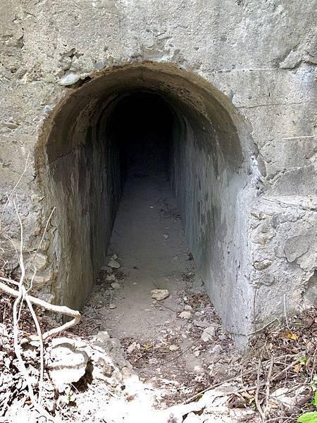 「北峰碉堡」北砲台中層出入口