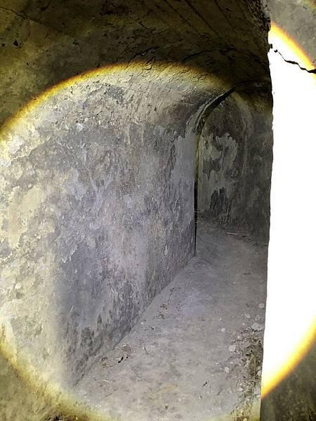 進入北砲台中層坑道