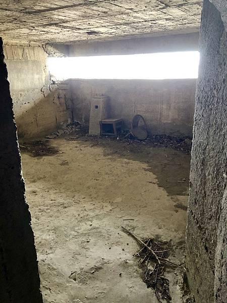 進入北砲台中層砲堡