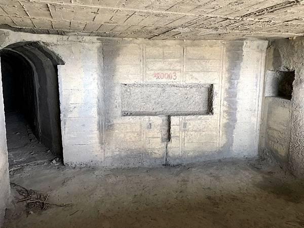 中層砲堡內部