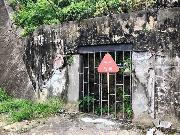 宿舍及病院區域禁止進入
