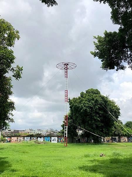 通信電塔架設意象