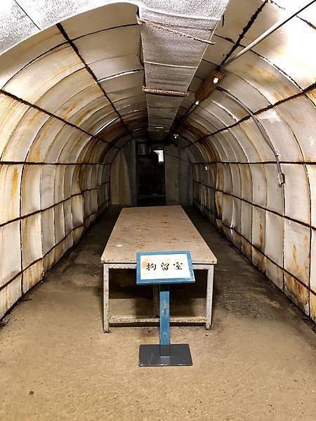 另一條支坑道拘留室