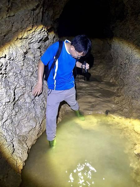 通過深水攤