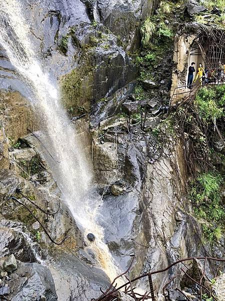 第1號明隧道大瀑布水落阻絕