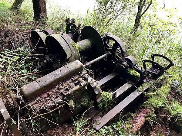 廢棄火車部件遺跡