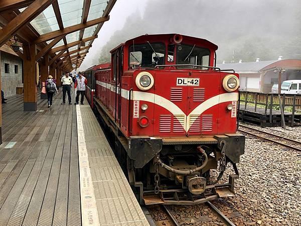 沼平車站阿里山小火車
