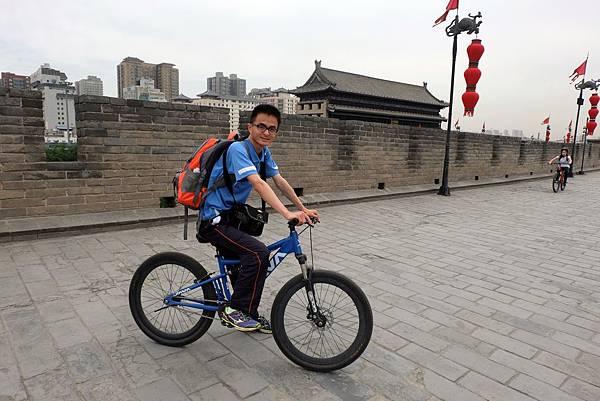西安城牆單車