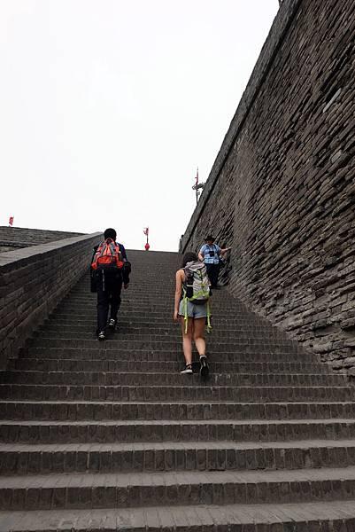 登北門城牆