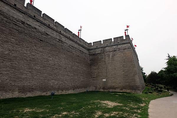 西安城牆外觀