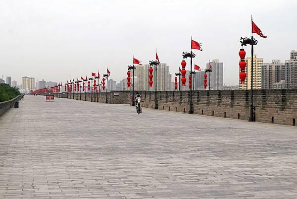 西安城牆一景