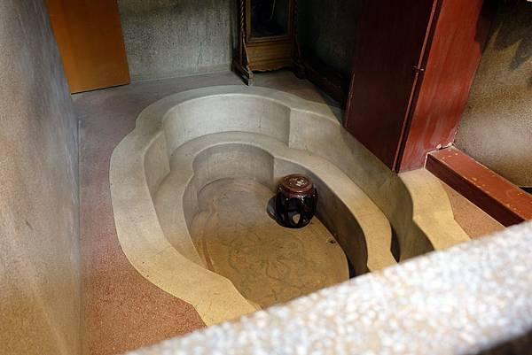 五間廳沐浴室浴池仿建唐代貴妃池
