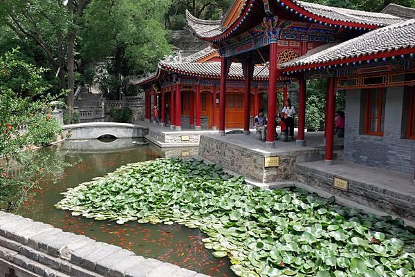 華清池一景