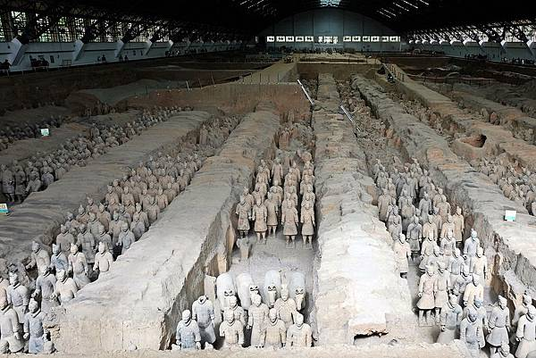 西安秦始皇兵馬俑朝聖