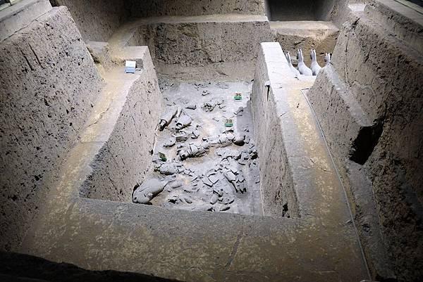 三號坑挖掘現場