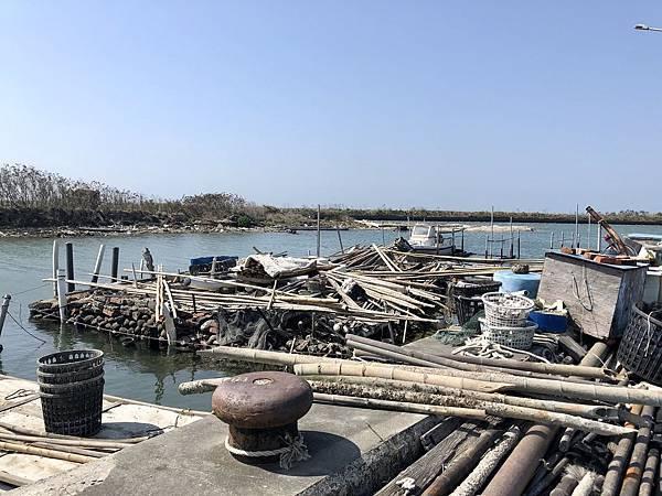 青鯤鯓青山漁港風情
