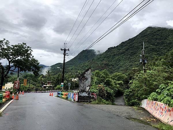 安坡部落碑往右下產業小路