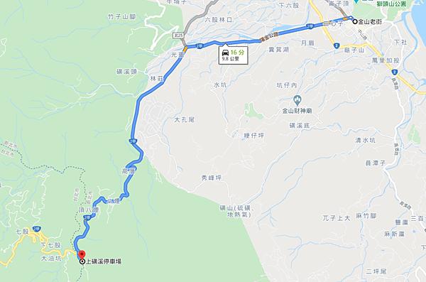 磺溪野溪溫泉Map