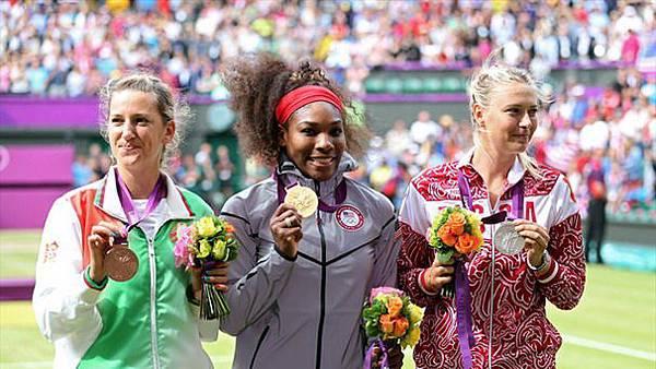 女單奧運前3名