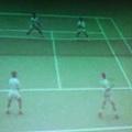 澳網公開賽選手誤擊中(燕子)的一瞬間