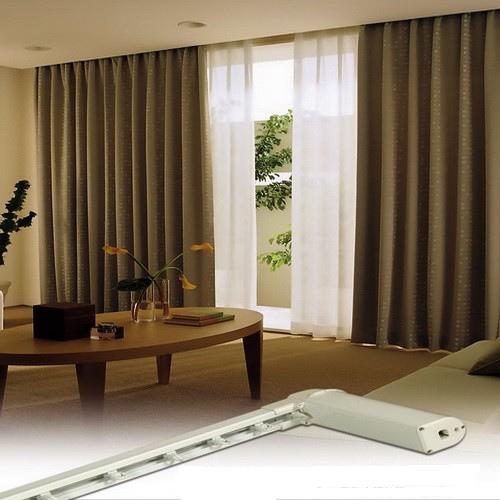 皮帶式電動窗簾
