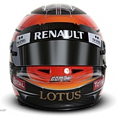 Romain Grosjean Helmet 3 安全帽