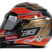 Romain Grosjean Helmet 4 安全帽