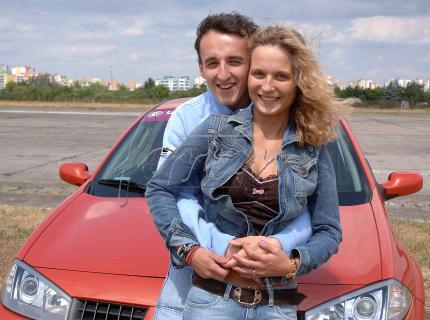 Kubica's Fiance Edyta Witas.bmp