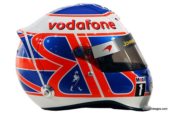 The helmet of Jenson Button (GBR) McLaren.jpg