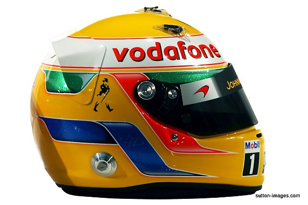 The helmet of Lewis Hamilton (GBR) McLaren.jpg
