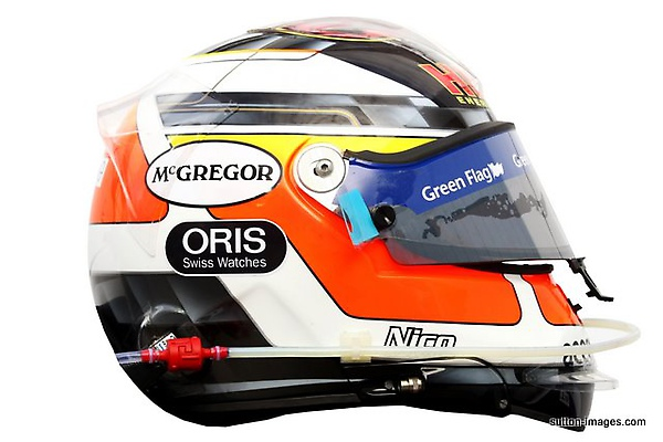 The helmet of Nico Hulkenberg (GER) Williams..jpg