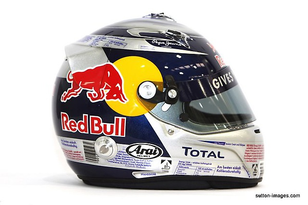 The helmet of Sebastian Vettel (GER) Red Bull Racing.jpg