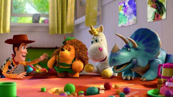 Woody與Bonnie家的玩具