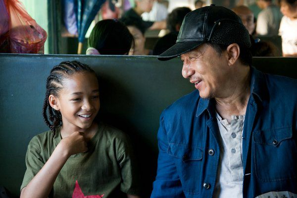 Mr. Han和Dre坐火車去山上